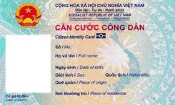 Bộ Công an chính thức quy định mẫu thẻ Căn cước công dân gắn chip điện tử