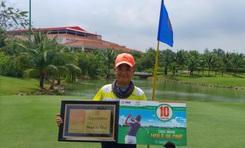 Sử dụng gói dịch vụ của VGS Sport, golfer Ngô Tuấn Anh trúng 100 triệu đồng