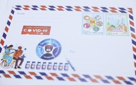 Bộ TT&TT phát hành bộ tem kêu gọi ủng hộ phòng chống dịch bệnh Covid-19