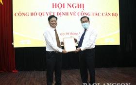 Lạng Sơn bổ nhiệm cán bộ biệt phái của Bộ TT&TT làm Phó Giám đốc Sở TT&TT