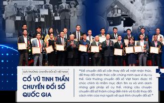 Giải thưởng chuyển đổi số Việt Nam - Cổ vũ tinh thần truyển đổi số quốc gia