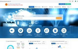 Bộ TT&TT đạt 100% dịch vụ công trực tuyến mức độ 4 trước thời hạn
