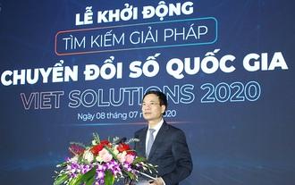 Bộ TT&TT phát động cuộc thi tìm kiếm giải pháp chuyển đổi số quốc gia