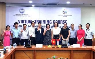 Việt Nam đào tạo cho gần 50 học viên Cu Ba phát triển hệ thống phân tích dữ liệu