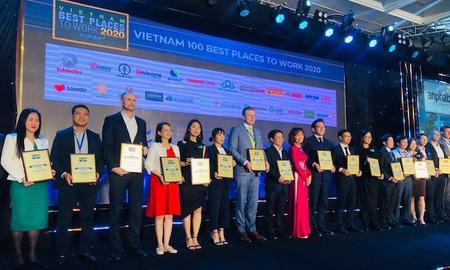 """CMC lập """"hattrick"""" nơi làm việc tốt nhất Việt Nam và châu Á năm 2020"""