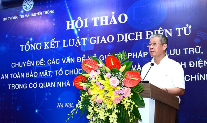"""Thúc đẩy giao dịch điện tử tại Việt Nam cần cơ chế """"sandbox"""""""