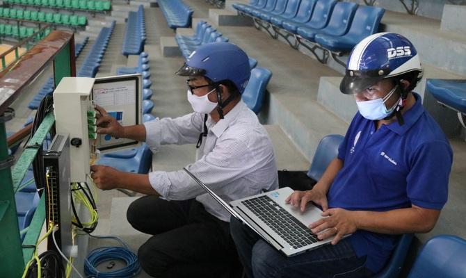 VNPT Đà Nẵng thần tốc hoàn thành hạ tầng Viễn thông - CNTT cho bệnh viện dã chiễn